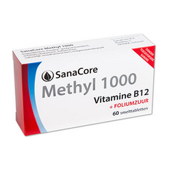 SanaCore Methyl 1000 60 smelttab