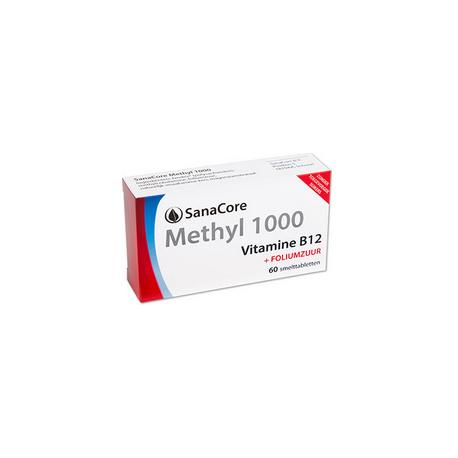 SanaCore Methyl 1000 60 smelttab