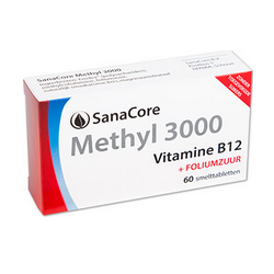SanaCore Methyl 3000 60 smelttab