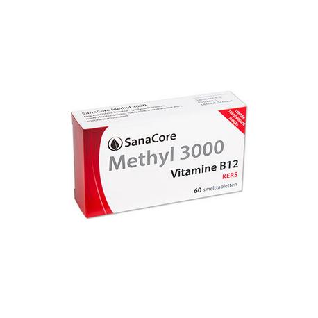 SanaCore Methyl 3000 100% 60 smelttab