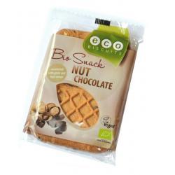 Noten / chocolade biscuit