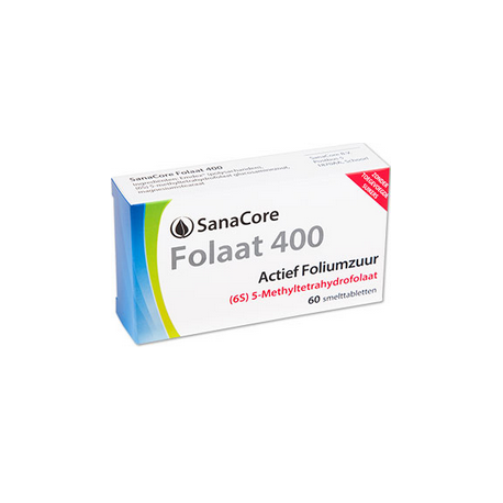 SanaCore Folaat 400 6S 60 smelttab