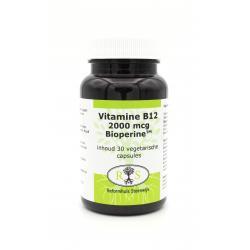 Reformhuis Steenwijk Vitamine B12 2000 mcg Bioperine 30 vcaps