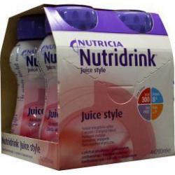 Juice style aardbei