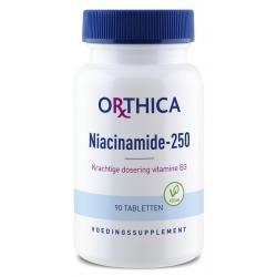 Vitamine B3 niacinamide 250