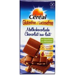 Melkchocolade hazelnoot glutenvrij