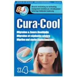 Cura-cool migraine strips