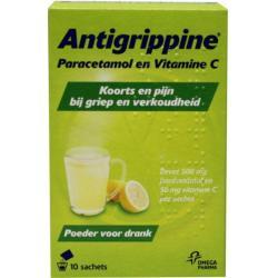 Antigrippine poeder