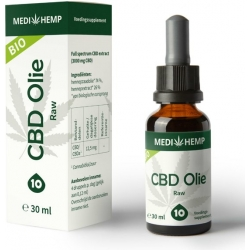 CBD Olie Raw 10% 30 ml