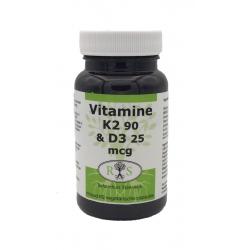 Reformhuis Steenwijk Vitamine K2 90 mcg & D3 25 mcg 60 vcaps