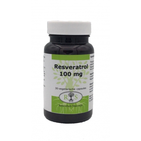 Reformhuis Steenwijk Resveratrol 100 mg 30 caps