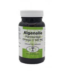 Algenolie Plantaardige Omega-3 500 mg 60 caps