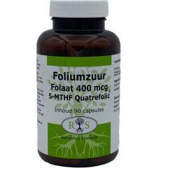 Foliumzuur Folaat 400 mcg 90 caps