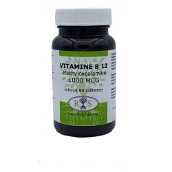Reformhuis Steenwijk Vitamine B12 1000 mcg met methylcobalamine 100 smelttab